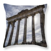 Faded Glory Of Rome Throw Pillow