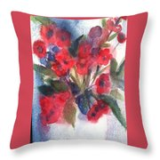 Faded Memories Throw Pillow by Sherry Harradence