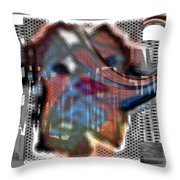 Faded Memory Throw Pillow