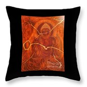 Faded Peace_sold Throw Pillow