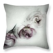 Fading Feelings Throw Pillow