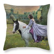 Faerie Tales Throw Pillow