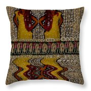Faeries And Mermaids Throw Pillow