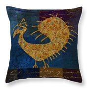Fafa Bird - 01c04alss Throw Pillow
