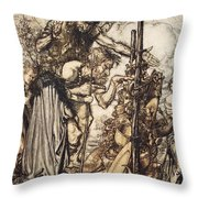 Fafner Hey! Come Hither, And Stop Throw Pillow
