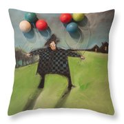 Failure To Launch Throw Pillow