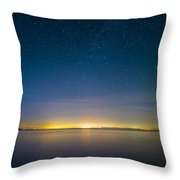 Faint Milky Way Throw Pillow
