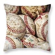 Fair Balls Throw Pillow