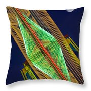 Fair Night Throw Pillow