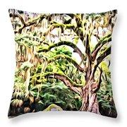 Fairchild Painted Throw Pillow