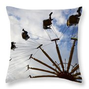Fairground Fun 3 Throw Pillow