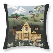 Fairhill Farm Throw Pillow