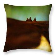 Fairies Giza Throw Pillow by Rebecca Sherman