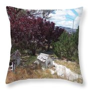 Fairies House Throw Pillow