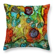 Fairies May Live Here Throw Pillow