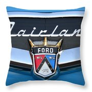 Fairlane Name Plate Throw Pillow