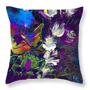 Fairy Dusting Throw Pillow