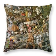 Fairy Fellers Master-stroke Throw Pillow