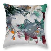 Fairy Horses Throw Pillow