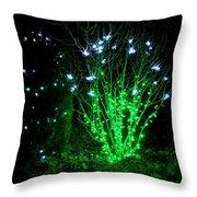 Fairy Light Throw Pillow