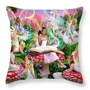 Fairy Story Throw Pillow