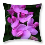 Fairy Tale Pink Throw Pillow