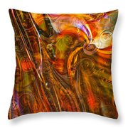 Fairytale Colors Throw Pillow