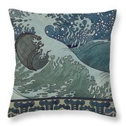 Fairytale Of The Tsar Saltan Throw Pillow