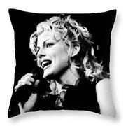 Faith Hill 18 - 1995 Throw Pillow