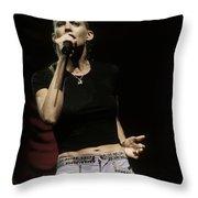 Faith Hill Throw Pillow