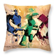 Faith That Is Not Seen Throw Pillow by Anthony Falbo