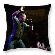 Faith Will Be Rewarded-color Throw Pillow by Jeff Ross