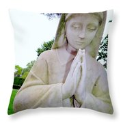 Faithful Fran Throw Pillow
