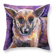 Faithful Friend Throw Pillow