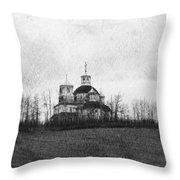Faiths Hill Throw Pillow