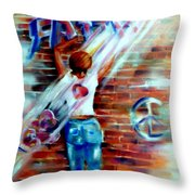 Faith...within Reach Throw Pillow