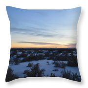 Fajada Sunset Throw Pillow