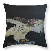 Falconry 5 Throw Pillow