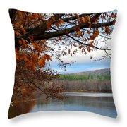 Fall Approaching Throw Pillow