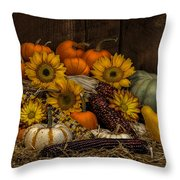 Fall Assortment Throw Pillow