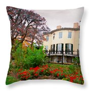 Fall At Lemon Hill Throw Pillow
