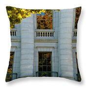 Fall At The Capitol Throw Pillow
