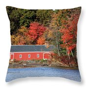 Fall At The Mill Throw Pillow