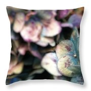 Fall Blues Throw Pillow