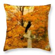 Fall Burst Throw Pillow