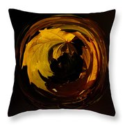 Fall Colorball Throw Pillow