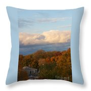 Fall Colors In New England Throw Pillow