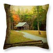 Fall Color's Throw Pillow