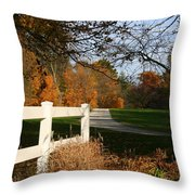 Fall Comes To The Hollow Throw Pillow