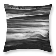 Fall Creek Flow Throw Pillow